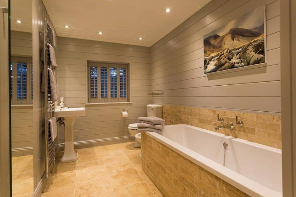 AJM Decorating have worked alongside Sarah Jane Nielsen Interior Designers  on this stunning 'Ski Chalet' style holiday home situated in Skelwith  Bridge, ...